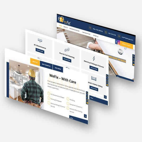 Maintenance & Cleaning Company Web Design